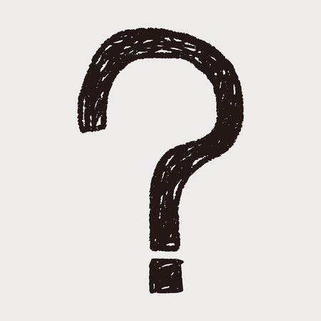 Question mark doodle