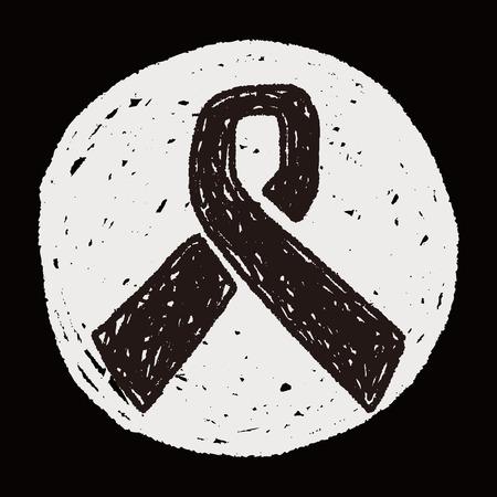 hiv awareness: AIDS DAY doodle Illustration
