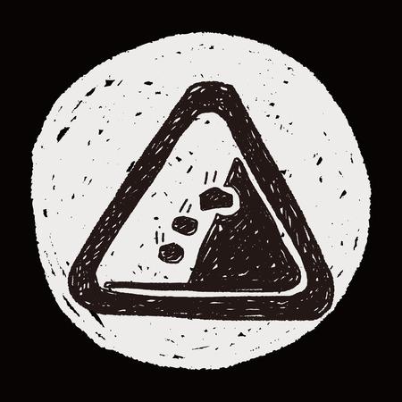 rockfall: Rockfall doodle
