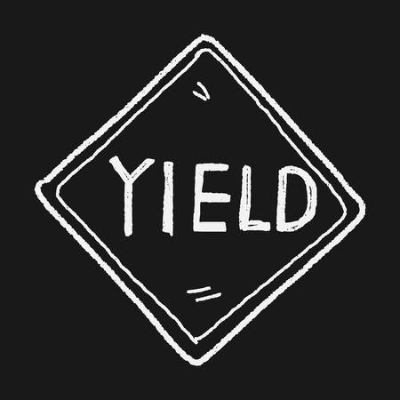 yield: yield doodle