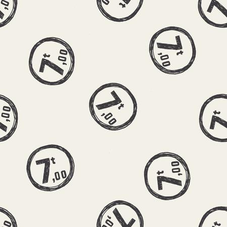 maximum: Maximum weight per axle. doodle seamless pattern background