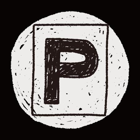 car park: car park doodle