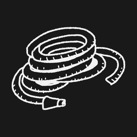 rinse spray hose: sprinkler doodle