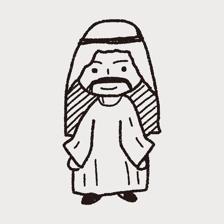 arabian: Arabian doodle