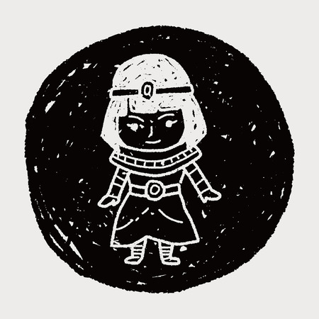 cleopatra: egypt doodle
