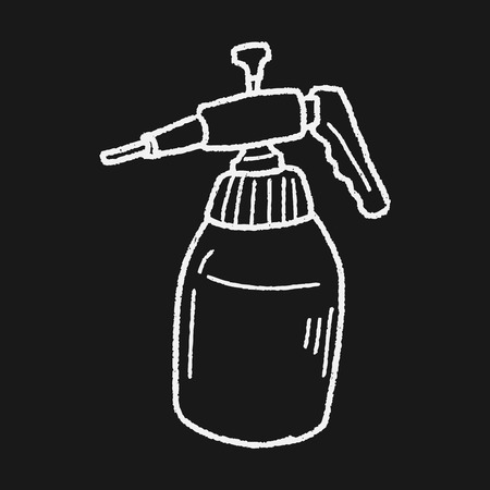 watering hose: watering can doodle