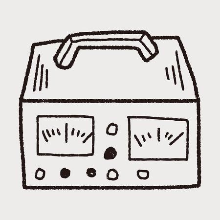 multimeter: electricity measurer doodle