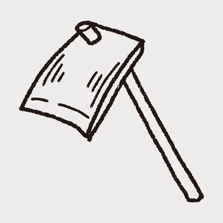 hoe: Hoe doodle