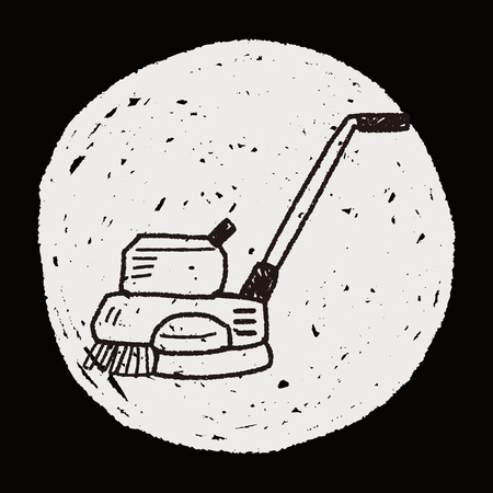 machines: floor buffing machines doodle