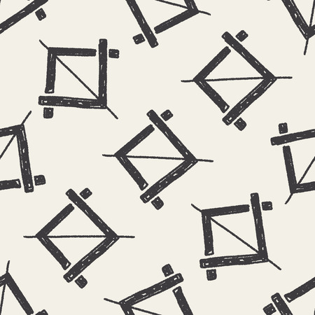 gray strip backdrop: photo cut doodle seamless pattern background