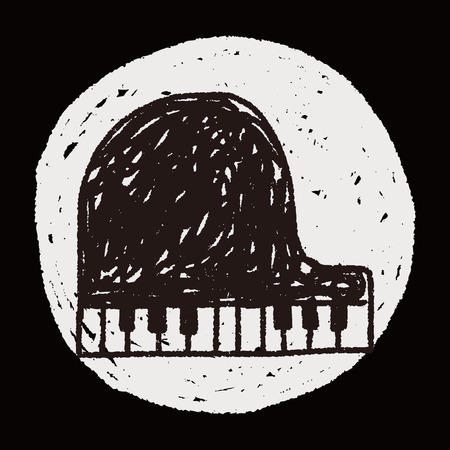 fortepian: fortepian doodle