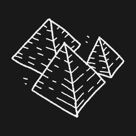 피라미드 낙서