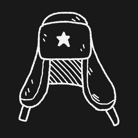 fur cap: Russia Hat doodle