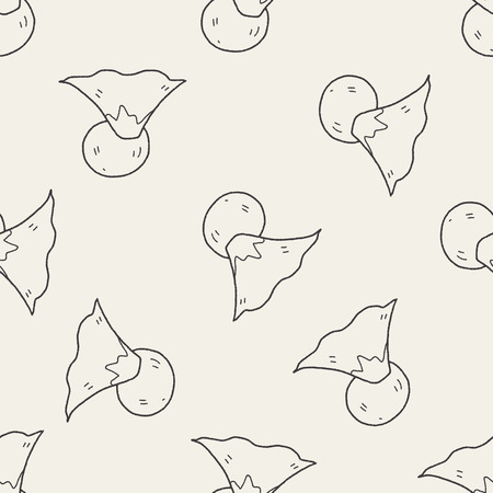 moutain: moutain sun doodle seamless pattern background