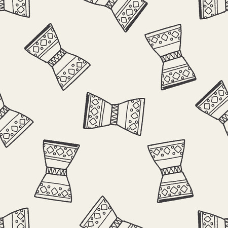 djembe: African drum doodle seamless pattern background