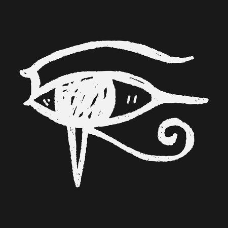 horus: Doodle ojo fara�n
