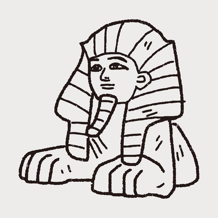 sphinx doodle royalty free cliparts vectors and stock illustration rh 123rf com sphinx clipart images sphynx cat clipart