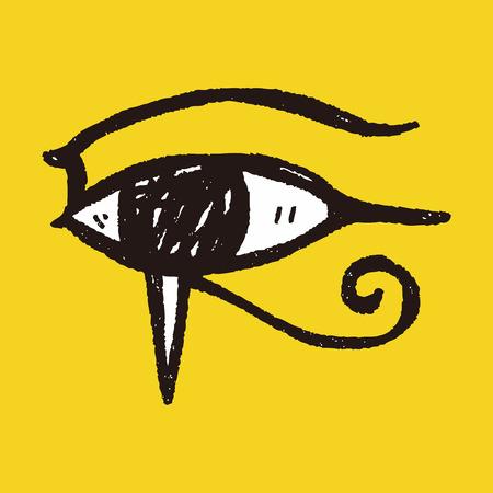 pharaoh: pharaoh eye doodle