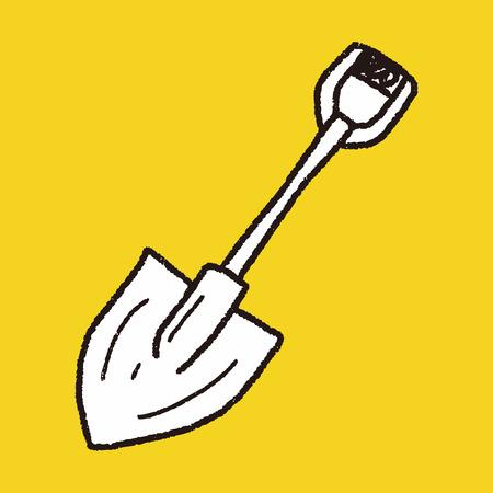 yard sign: shovel doodle