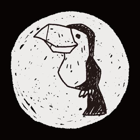 toucan: toucan doodle