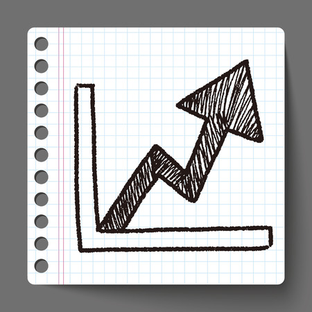 doodle grafiek up