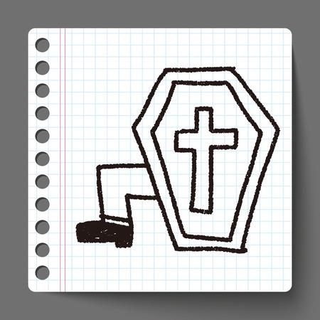 grave: grave doodle drawing
