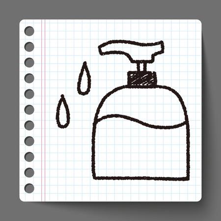 wash: doodle wash bottle