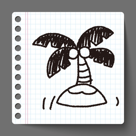 pisa cathedral: doodle palm