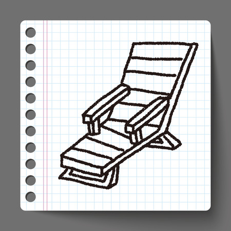 lounge chair: doodle Lounge chair