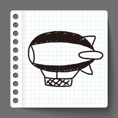 flying boat: Doodle Flying Boat