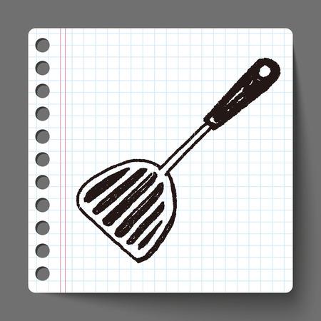culinair: Doodle culinaire lepel