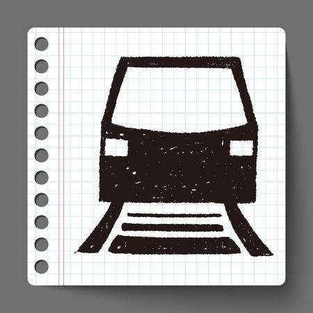 hand rails: doodle tram