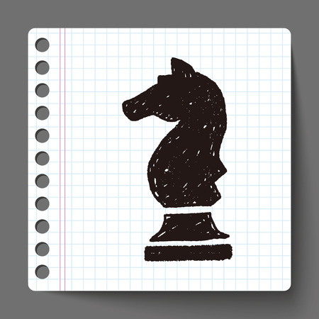 Doodle Chess Vector