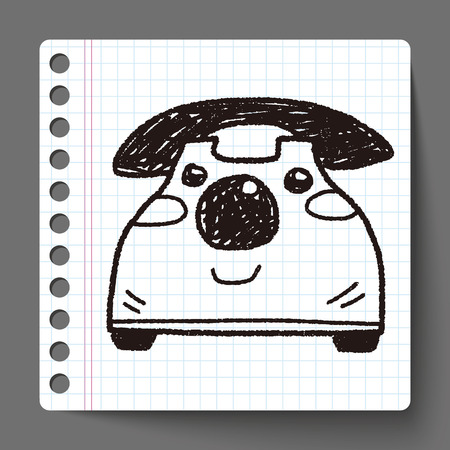 toy phone: Doodle Toy phone