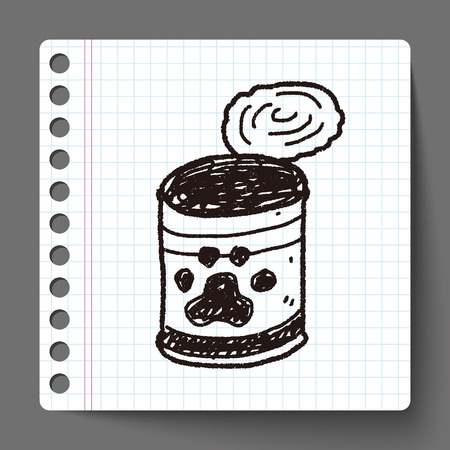 food can: doodle dog food can