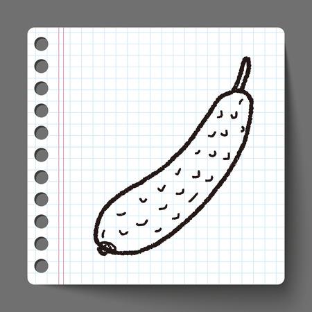 the gherkin: Gherkin doodle