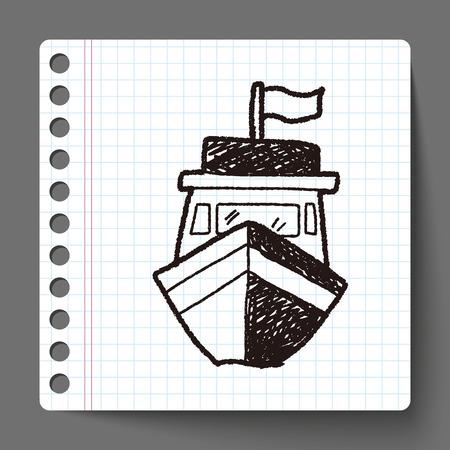 Boat doodle
