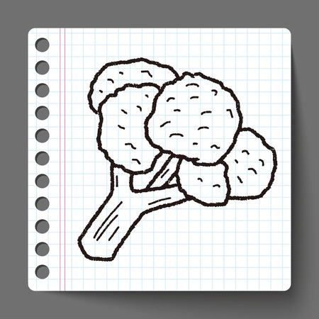 cauliflower: Cauliflower doodle
