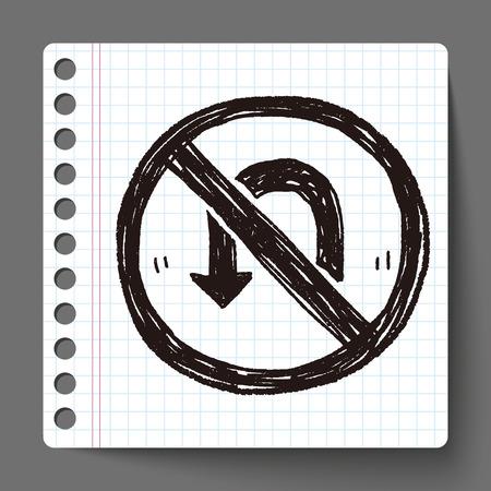 no Turn back doodle