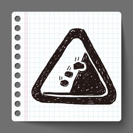 landslide: Rockfall doodle