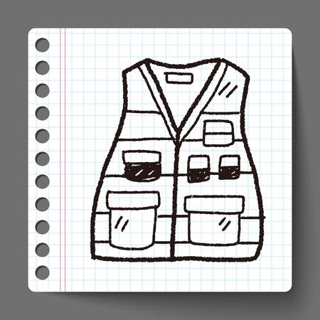 vest: vest doodle Illustration