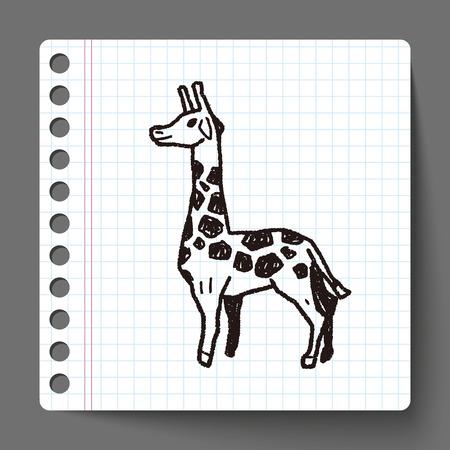 jirafa: jirafa del doodle