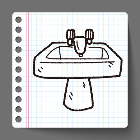 to sink: sink doodle