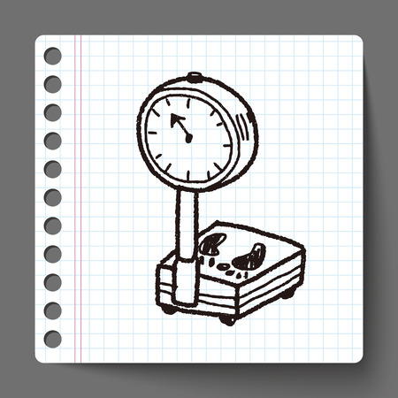 scale: weight scale doodle