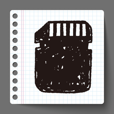 sd: sd card doodle