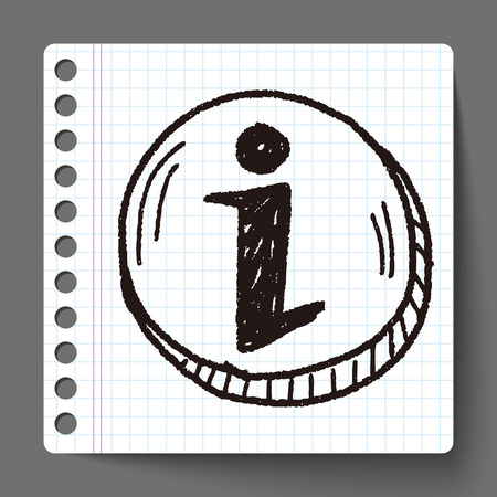 exclamation: exclamation doodle Illustration