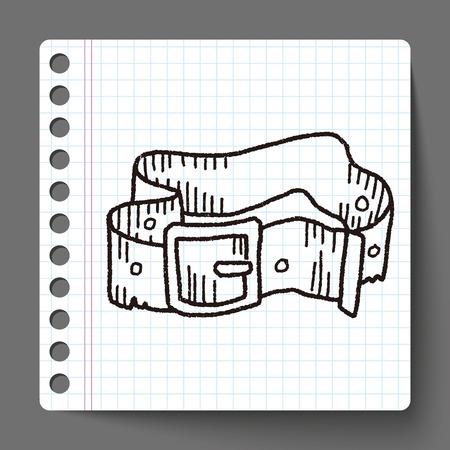 pant: pant belt  doodle Illustration