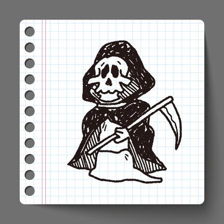 reaper: Sensenmann doodle Illustration