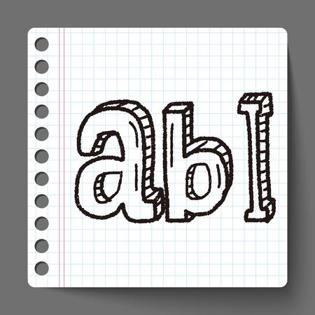 type: type abc doodle