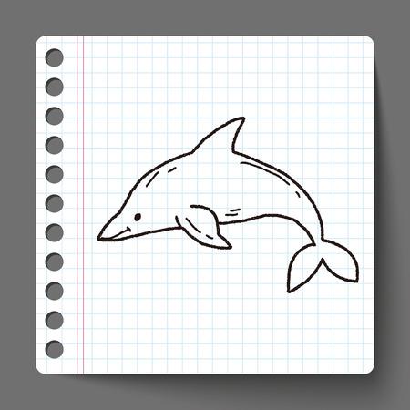 dauphin: Dolphin doodle